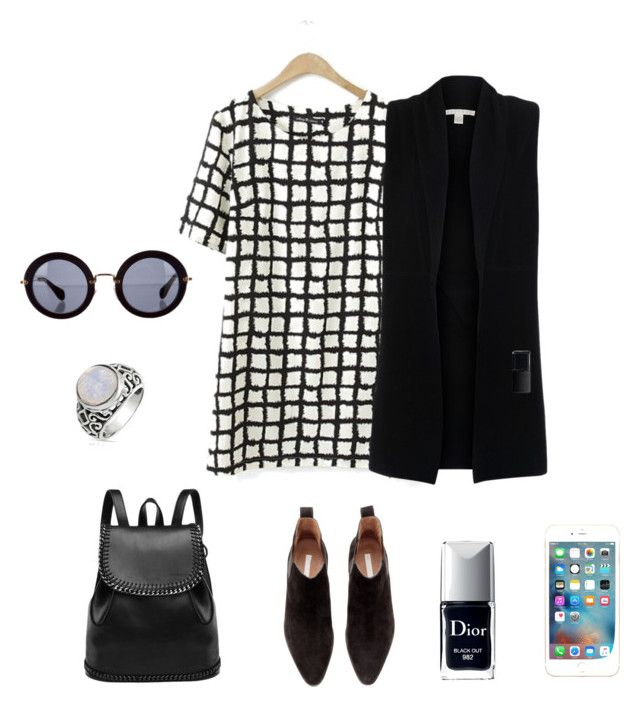 """""""Working Girl"""" by carolarepetto on Polyvore featuring H&M, Belford, Miu Miu, NARS Cosmetics and Bling Jewelry"""