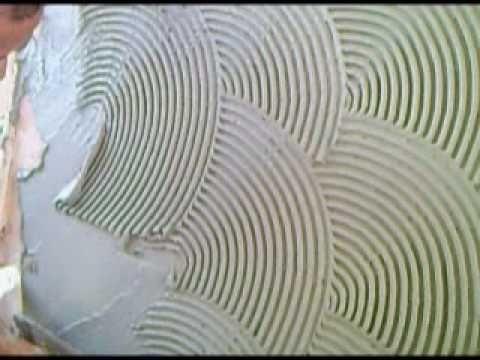 grafiato caseiro-aplicação. - YouTube