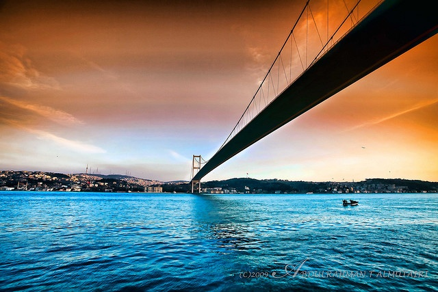 Bosphorus bridge #istanbul #turkey