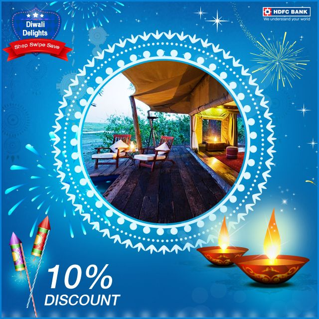 With the Festive mood everywhere & the long weekend awaiting. It's the perfect time to spend some quality time with your loved ones. #ShopSwipeSave & get 10% off on hotels booked with Expedia.com using your #HDFC Bank Credit Card.