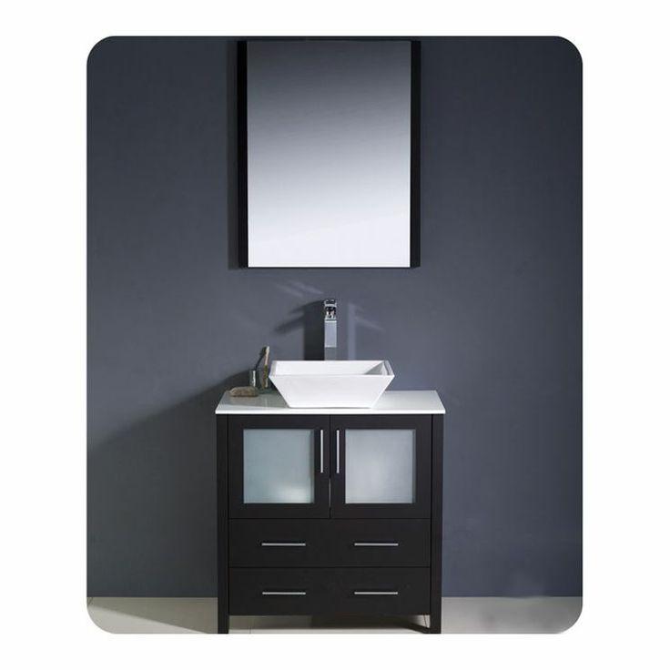 14 best master bath vanities images on pinterest bath for Levi 29 5 single modern bathroom vanity set