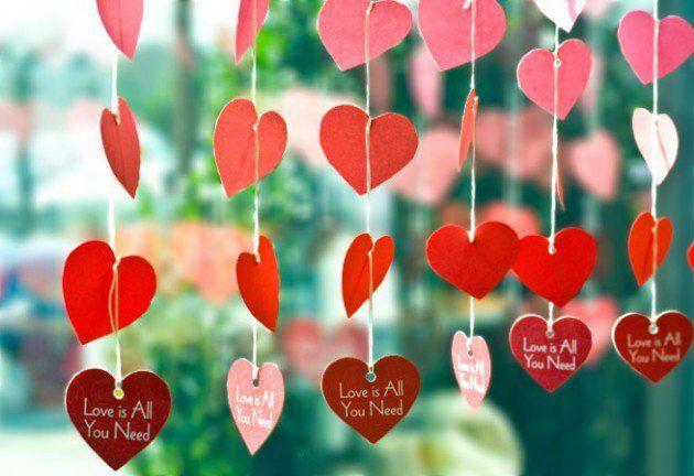 15 super gemakkelijke en goedkope Valentijn decoraties voor thuis!