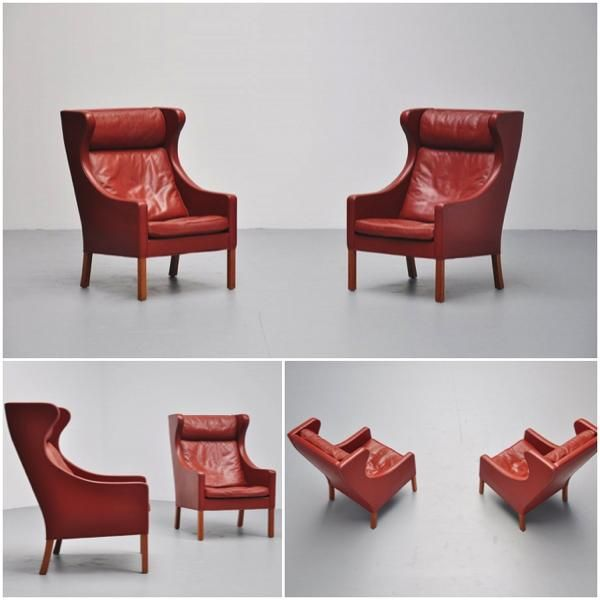 borge mogensen - wing back chair frederica