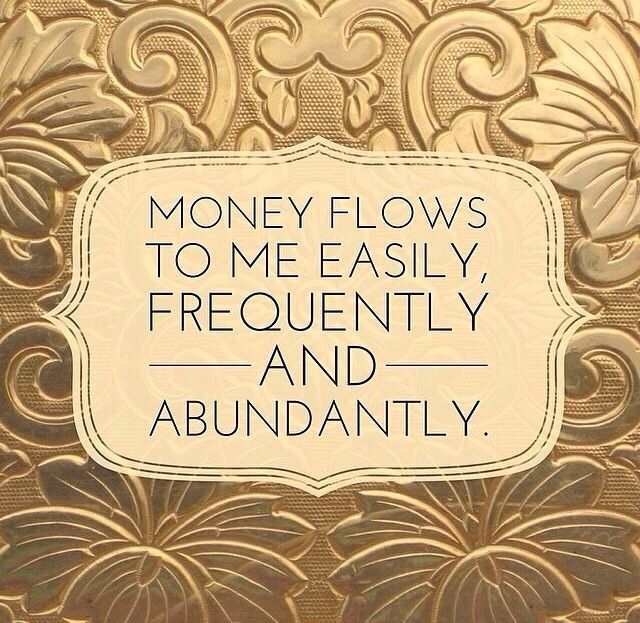 There is no limit to the amount of money that flows to me daily :) I Am A Billionaire ♥