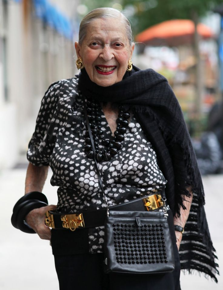 Rose is super fly at 100. Maybe I'll learn how to work a scarf by then. Her accessories are perfect.