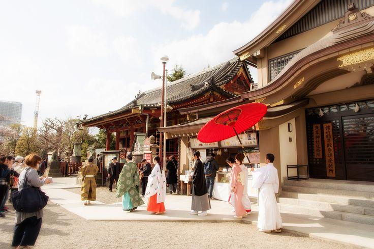 浅草神社 結婚式 浅草ビューホテル 披露宴 ウェディングフォト 出張撮影15