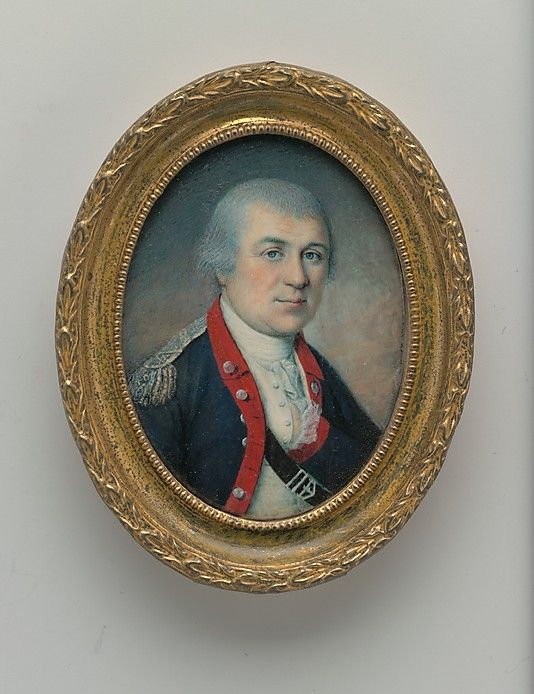 """General Henry Knox"" by Charles Willson Peale (1778) at the Metropolitan Museum of Art, New York"