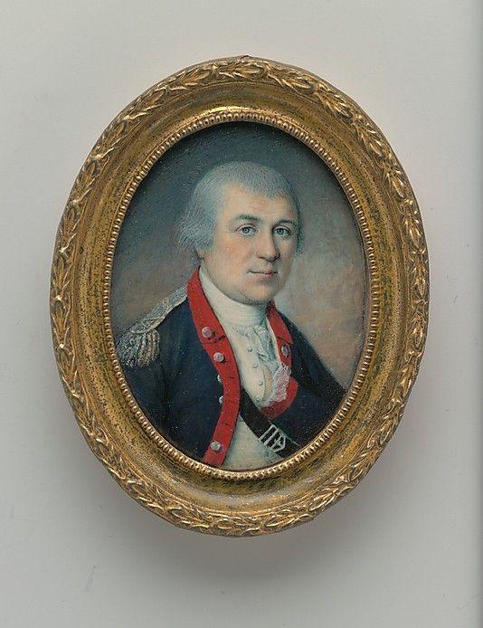 """General Henry Knox"" by Charles Willson Peale (1778) at the Metropolitan Museum of Art, New York"