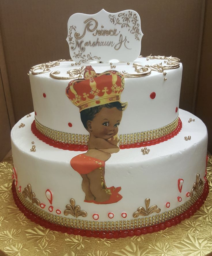 Prince Cake For Baby Shower