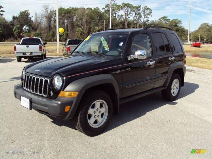 Black Jeep Liberty (With images) Jeep liberty, Black