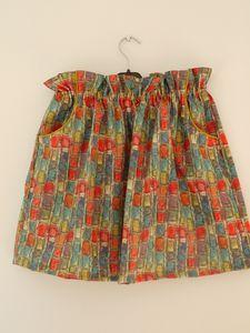 La jupe taille haute de La Poule