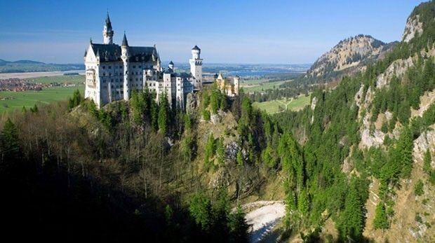 . Castelo Neuschwanstein, próximo a Munique, Alemanha