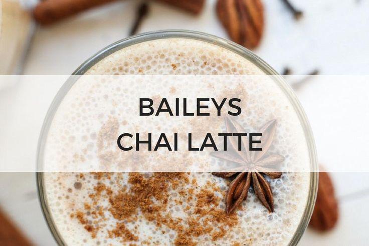 Baileys Chai Latte