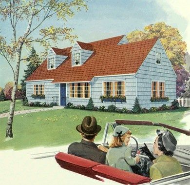 House Hunting 1950s