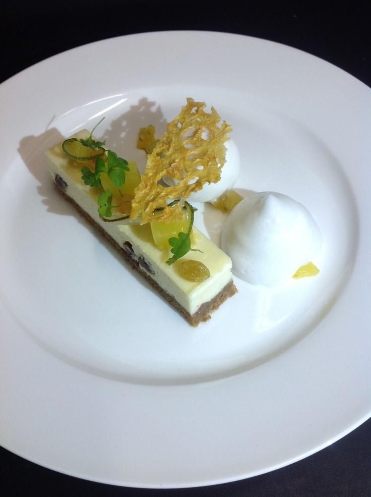 Rum and Raisin Cheesecake | Food | Pinterest