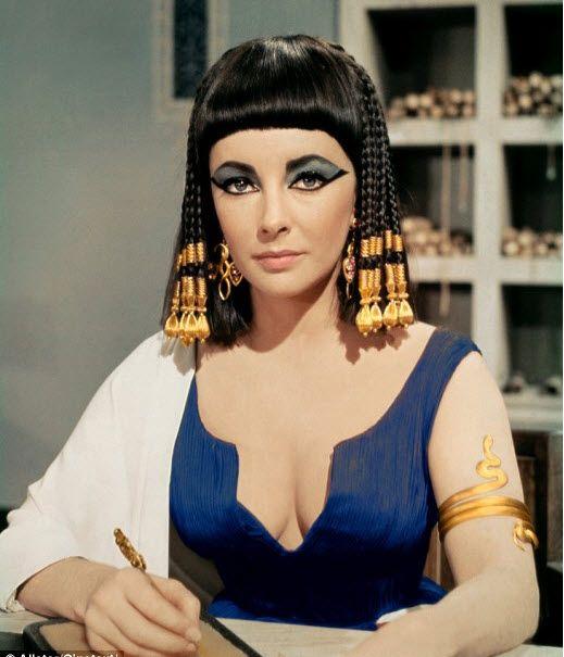 cleopatra+elizabeth+taylor | Elizabeth Taylor: Cleopatra in Rome..