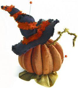 halloween pinchusion!