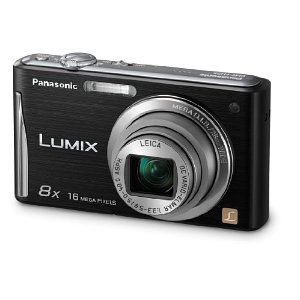 .Inch Lcd, 2 7 Inch, Wide Angled, 161Mp, Lcd Black, Panasonic Lumix, Angled Image, Digital Cameras, Stability Zoom