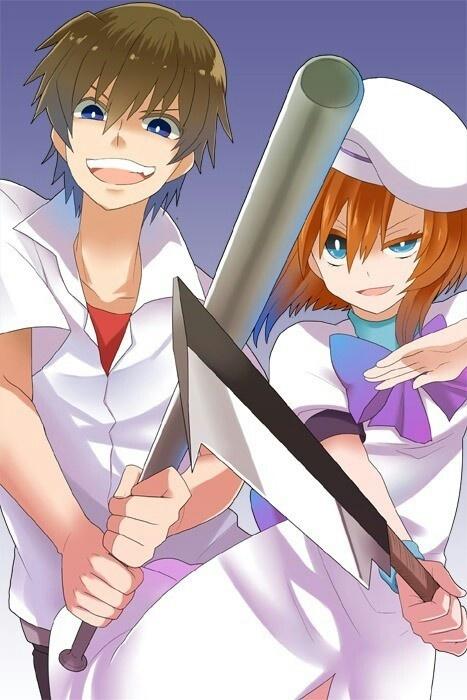 R O D Anime Characters : Higurashi keiichi insane pixshark images