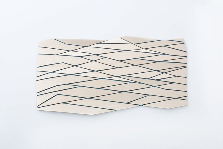 #WoodenMesh II by Diego Vencato || A high tech composite material: a new skin made of wood and felt. #diegovencato #wood #textile
