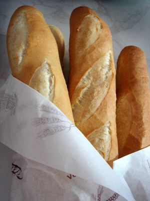 "The French word ""baguette"" means ""rod"" in English."