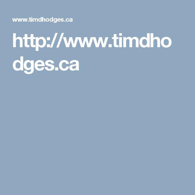http://www.timdhodges.ca