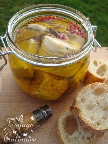 Chèvre mariné à l'huile d'olive et piment d'Espelette - Goat marinated in olive oil and Espelette