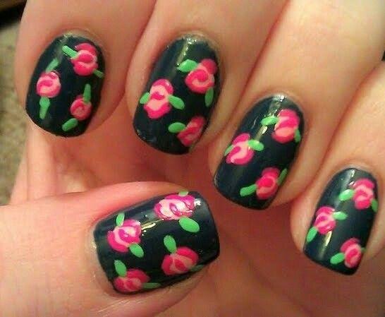 Rose nail...