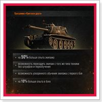 Недавно разработчики игры World of Tanks рассказали о программе «Пригласи друга».