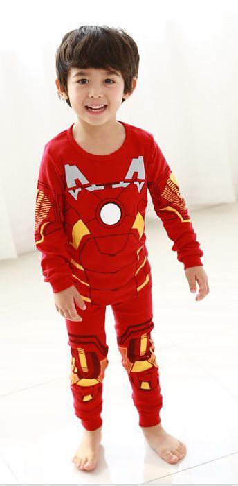 Boys clothes / Kids / Iron Man costume / Halloween