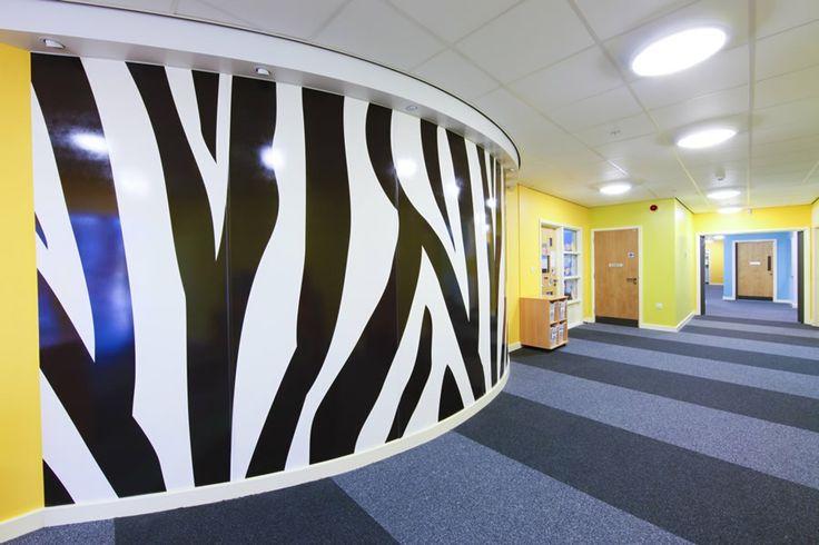Crocketts Lane Primary School - Altro Whiterock Digiclad