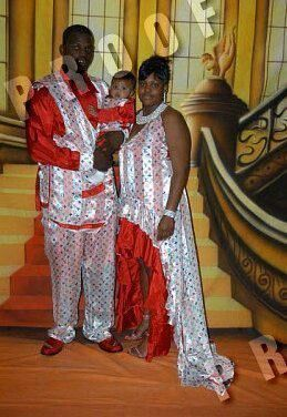 Ratchet wedding or ghetto prom pic