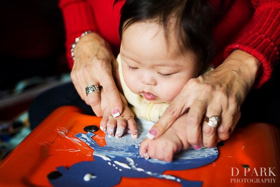 Early Intervention therapy and sensory art stimulation from 0-1 Year Olds for Special Needs and Down Syndrome