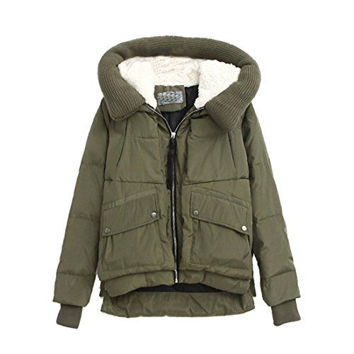Damen Koreanischen Winter Hoodie Fleece Tailliert Kapuzenjacke Daunenmantel(36,Armygreen) Jetor http://www.amazon.de/dp/B00QYT5XD0/ref=cm_sw_r_pi_dp_fhZYub0JSZHEN