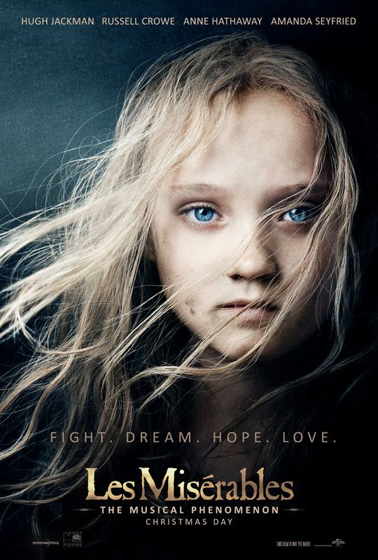 Les Miserables, such an amazing movie!