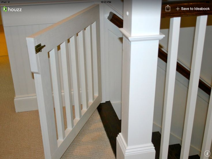8 Best Baby Gate Images On Pinterest Dog Gates Stairs And Wood