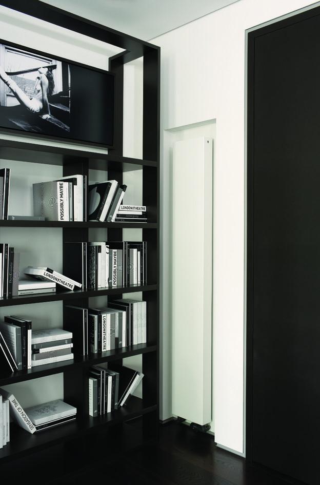 Spot the radiator! Outline radiator in white blending into white walls.