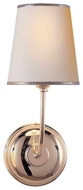 Vendome Single Sconce - traditional - wall sconces - Circa Lighting $189