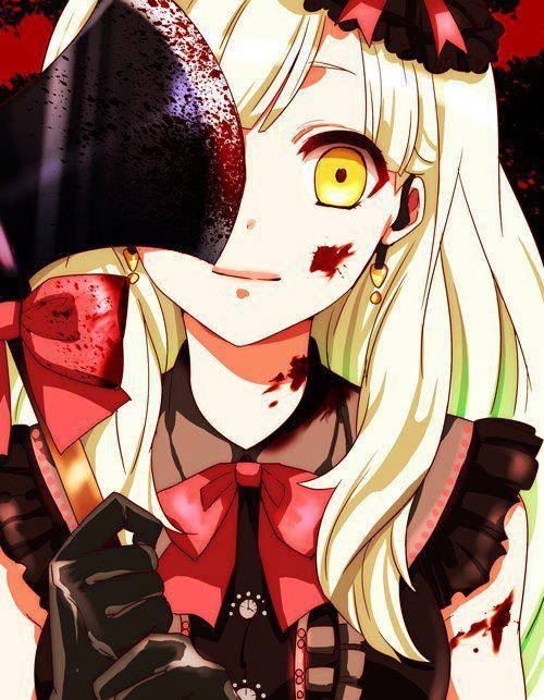 Yandere #Horror #Anime #Axe #Blood #Gore #Girl #Sexy #Manga: Yandere ...