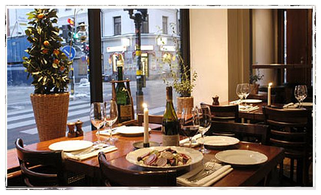Greek restaurant in Sodermalm, nothing fancy but great service and delicious food.