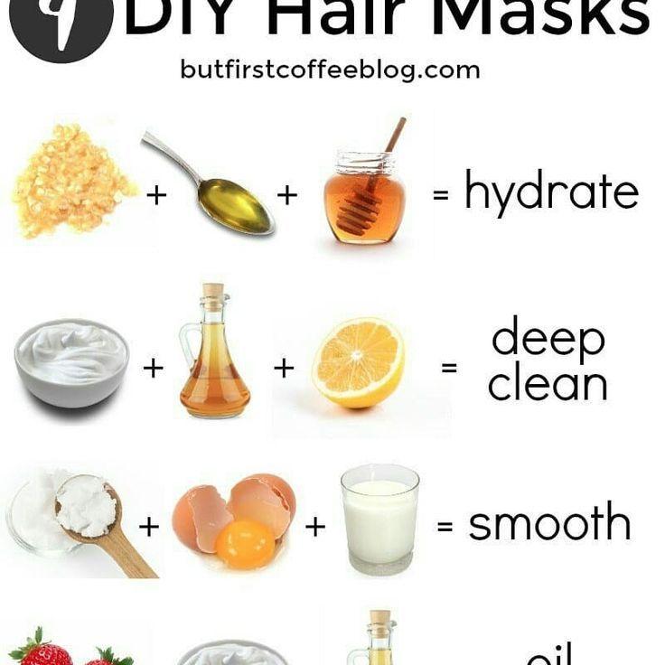 Haarmasken Selber Machen