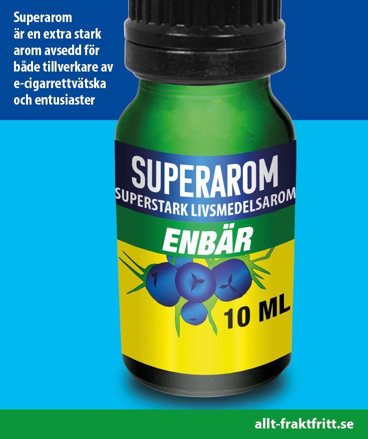 Superarom är en extra stark arom avsedd för både tillverkare av e-cigarrettvätska och entusiaster. Drygt, en arom som doseras 2% ger 50 x 10 ml ejuice = 500 ml. En arom som doseras 4% ger 25 X 10 ml ejuice.