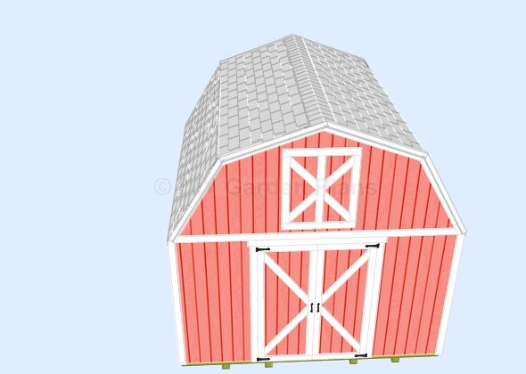 1000 Images About Shed Plans On Pinterest Gambrel