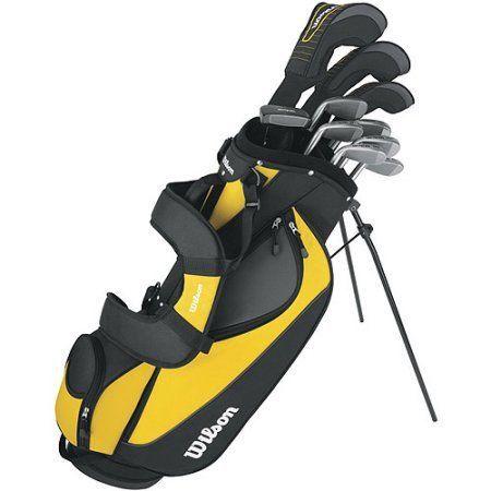 Wilson Ultra Men's Golf Club Set, Right-Handed, Yellow