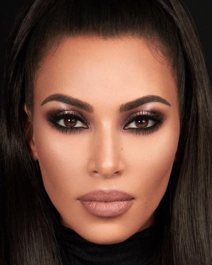 Tem Make Inédito Chegando Na Kkw Beauty Marca Da Kim Kardashian Trucco Per Occhi Marroni Idee Per Il Trucco Kim Kardashian