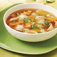 soupe aux épluchures de légumes racine