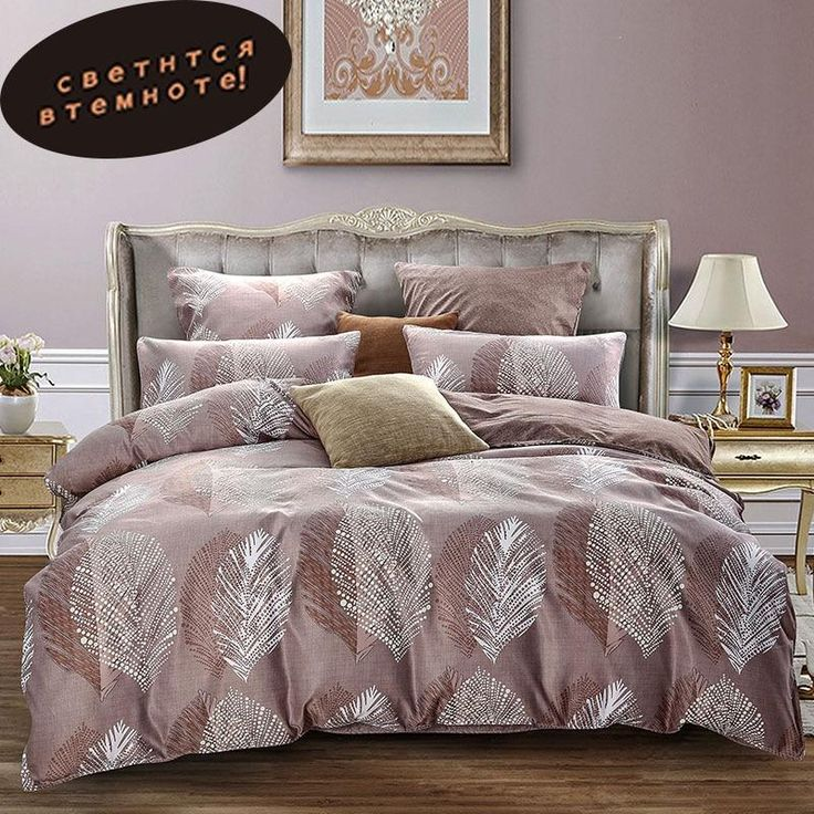 Alanna queen bedding set Luminous comforter euro pastel