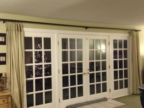 Pinterest for Long sliding glass doors