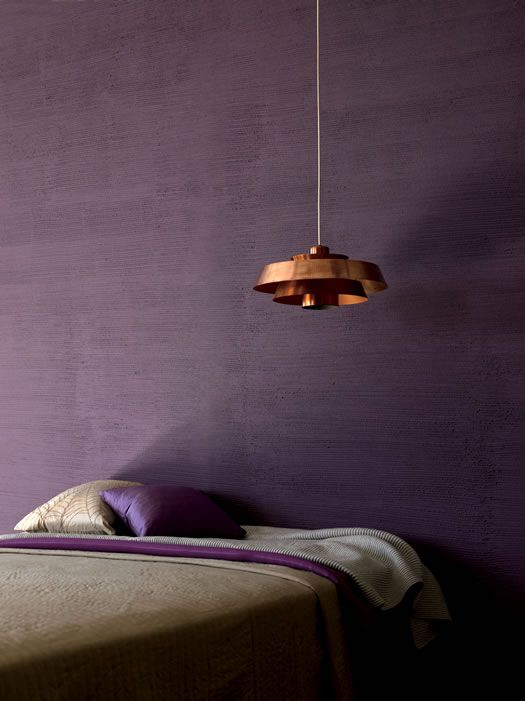 violet walls Exotic Satori Japanese Wall Finishes Providing a Distinct Modern Look
