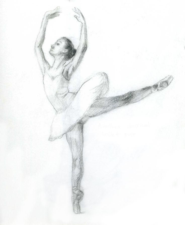 drawing of dancer | Sketches of dancers | Sun Ran's E-portfolio